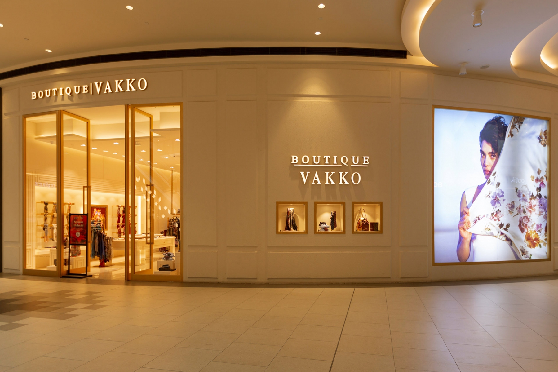 PIAZZA SHOPPING MALL VAKKO BOUTIQUE PROJECT – Light On Lighting